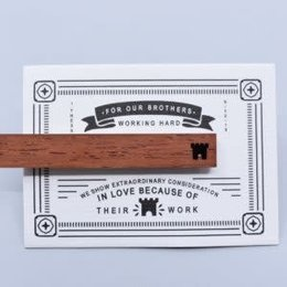 Happier To Give HTG Wooden Tie Clips