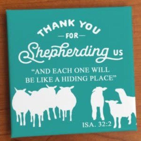 Happier To Give Shepherd Magnet