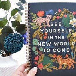 Happier To Give HTG See Yourself Notebook