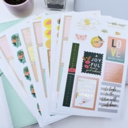 Happier To Give HTG Planner Stickers