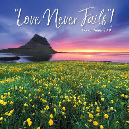 Madzay Love Never Fails Print