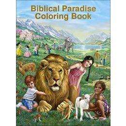 MJC Biblical Paradise Coloring Book