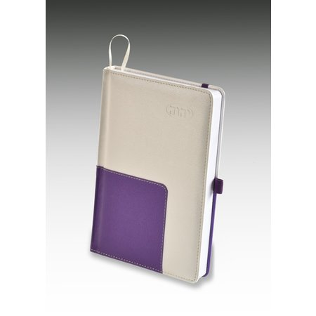 MJC Leather Meeting Notebook