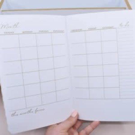Happier To Give HTG 3Pk Calendar/Journal