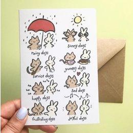 Seasoned with Salt True Friend Card
