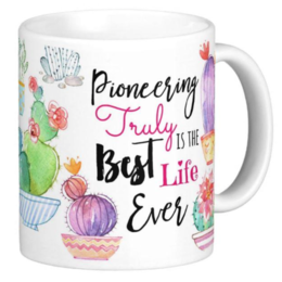 Happier To Give Pioneer Mug