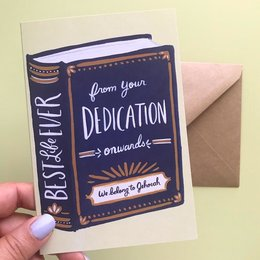 Seasoned with Salt Best Life Ever Book - Baptism Card