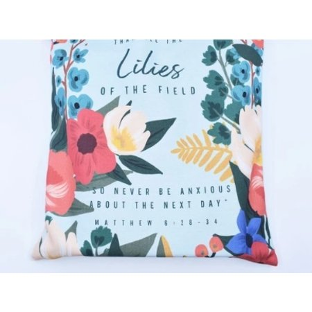 Happier To Give Lilies Tote