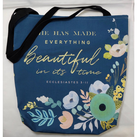 Happier To Give Everything Beautiful Tote