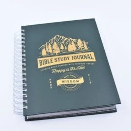 Happier To Give Bible Study Journal- Brothers