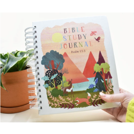 Happier To Give Bible Study Journal- Kids