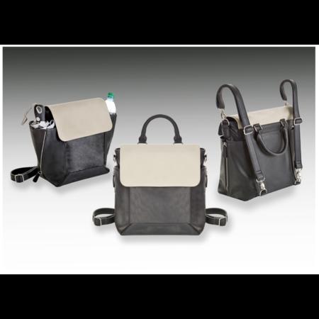 MJC Black/White Bag