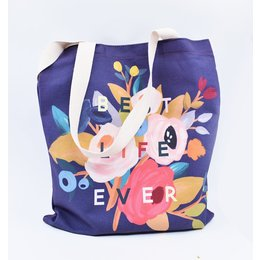 Happier To Give Best Life Ever Tote