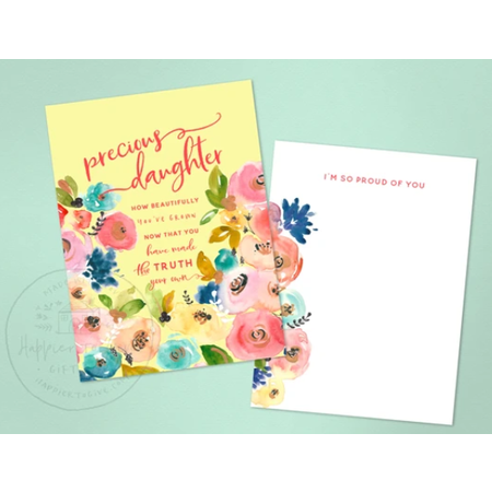 Happier To Give HTG Precious Daughter Card