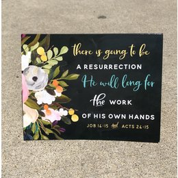 Happier To Give Resurrection Card