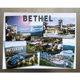 Happier To Give Bethel Postcard
