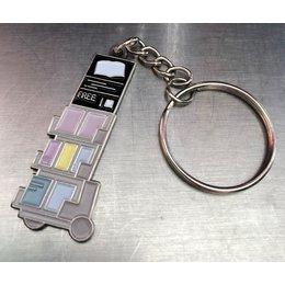 JW Stuff Literature Cart Mini Keychain