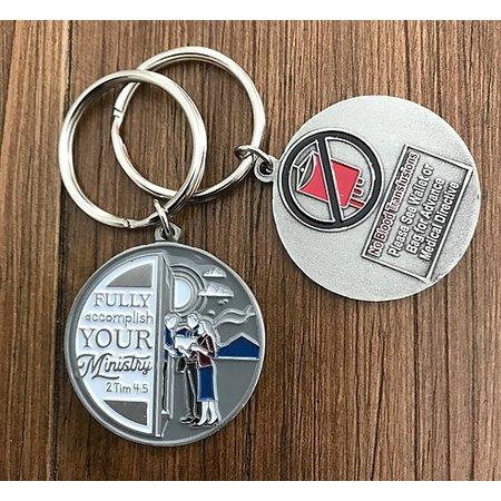 JW Stuff Ministry Keychain