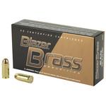 CCI/Speer Blazer Ammunition, Brass, 9mm, 115 Gr, FMJ, 50rd