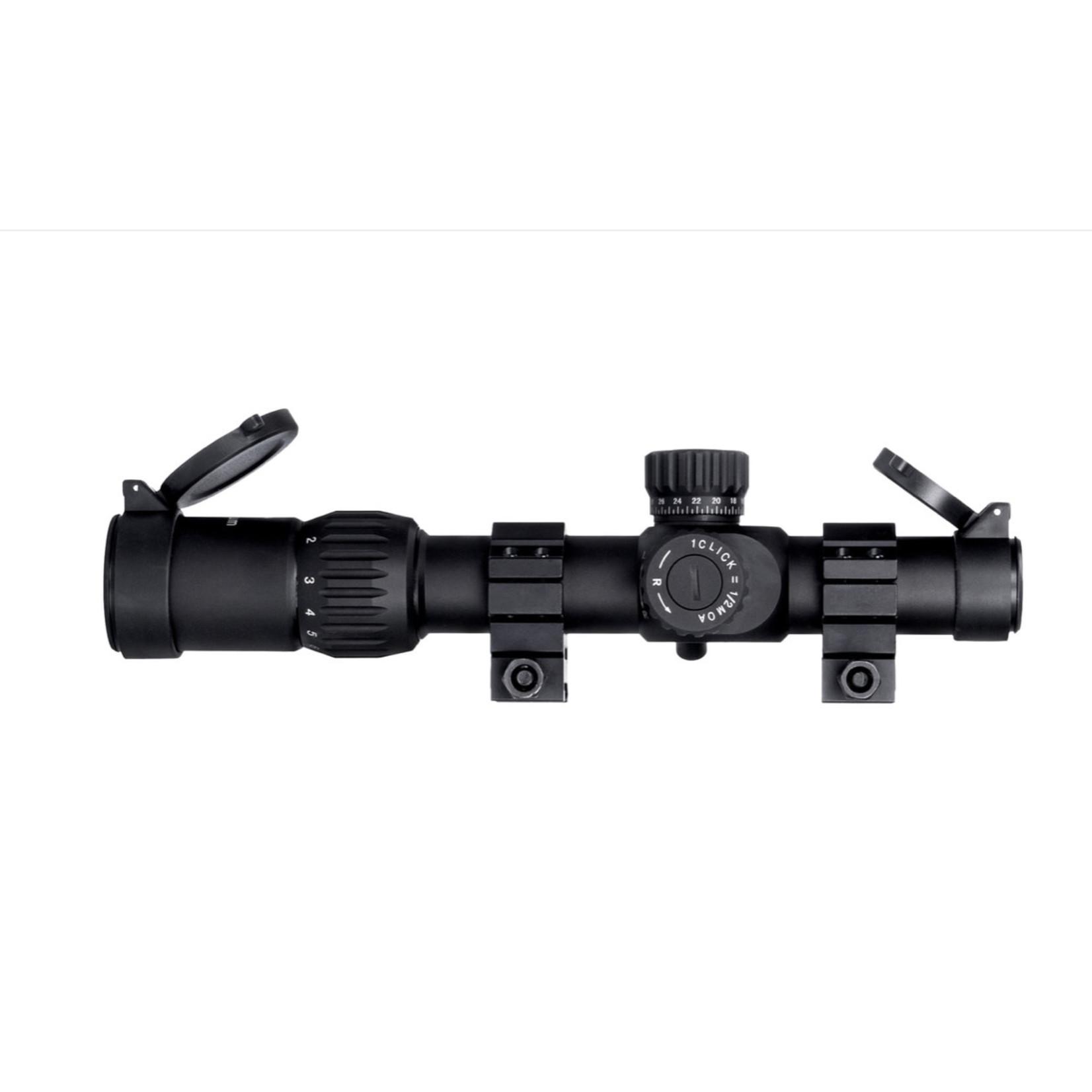 Monstrum Tactical Monstrum G3 1-6x24 FFP Rifle Scope (Black)