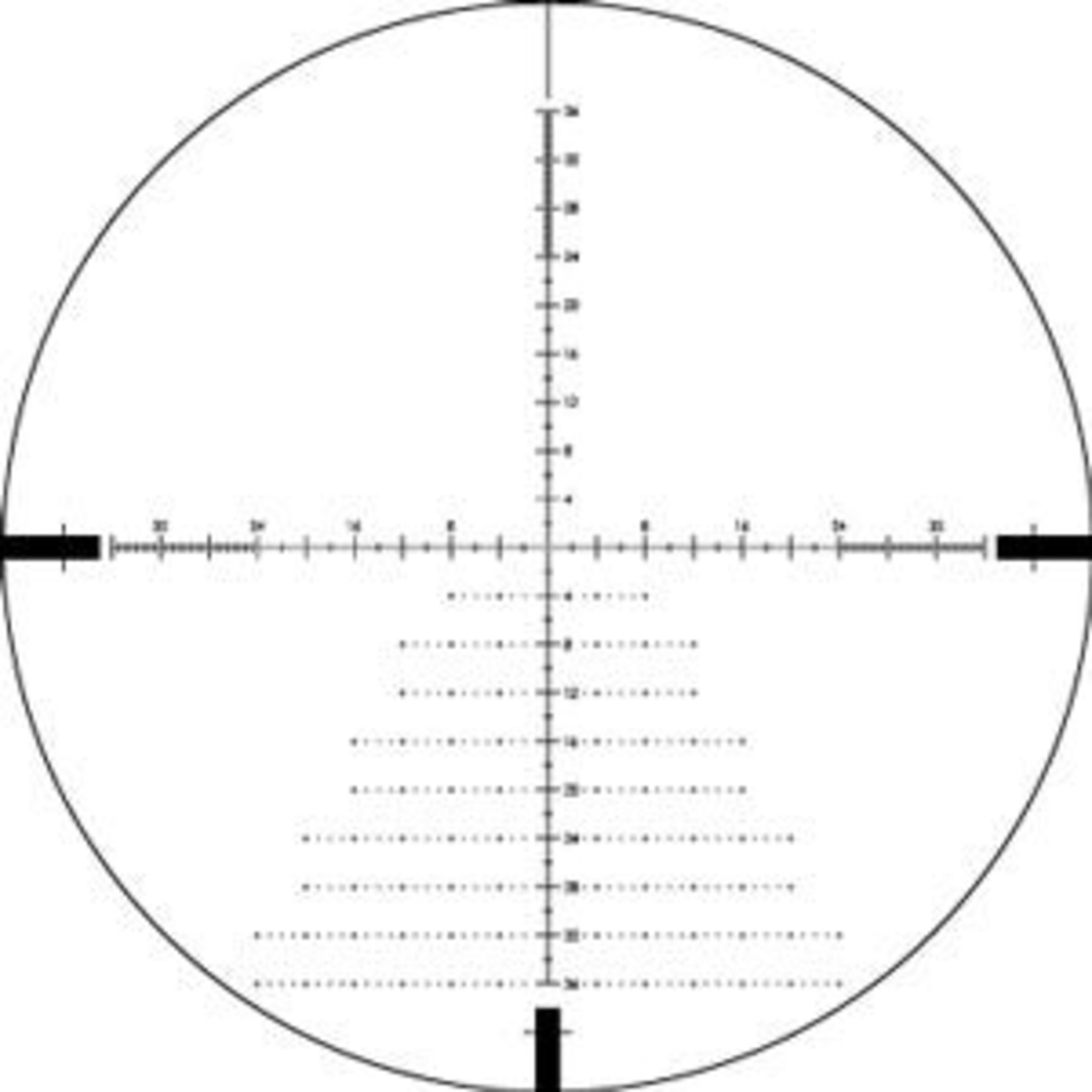VORTEX Diamondback® Tactical 6-24x50 FFP