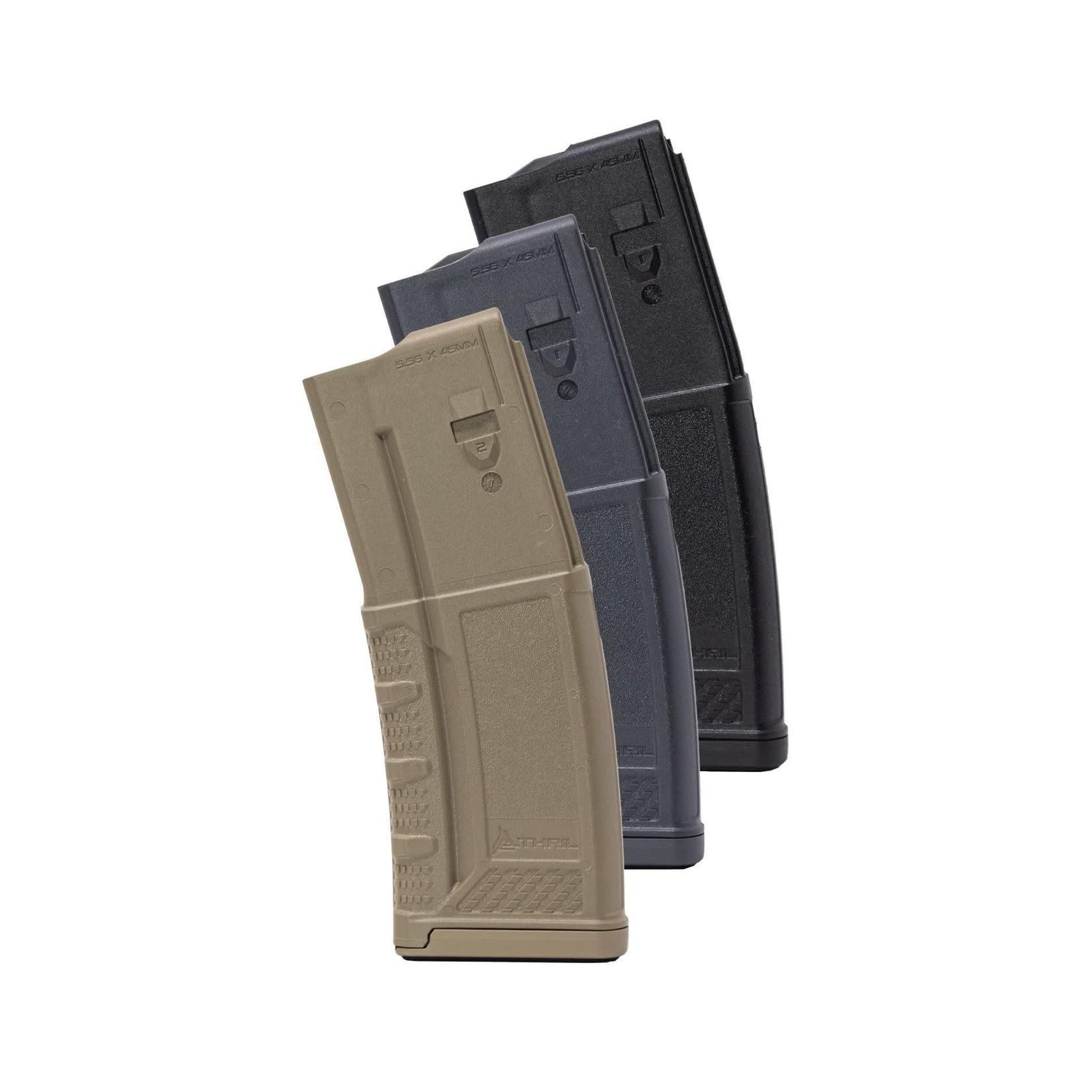 Thril THRiL USA 5.56x45mm Gray Polymer 30 Round Magazine