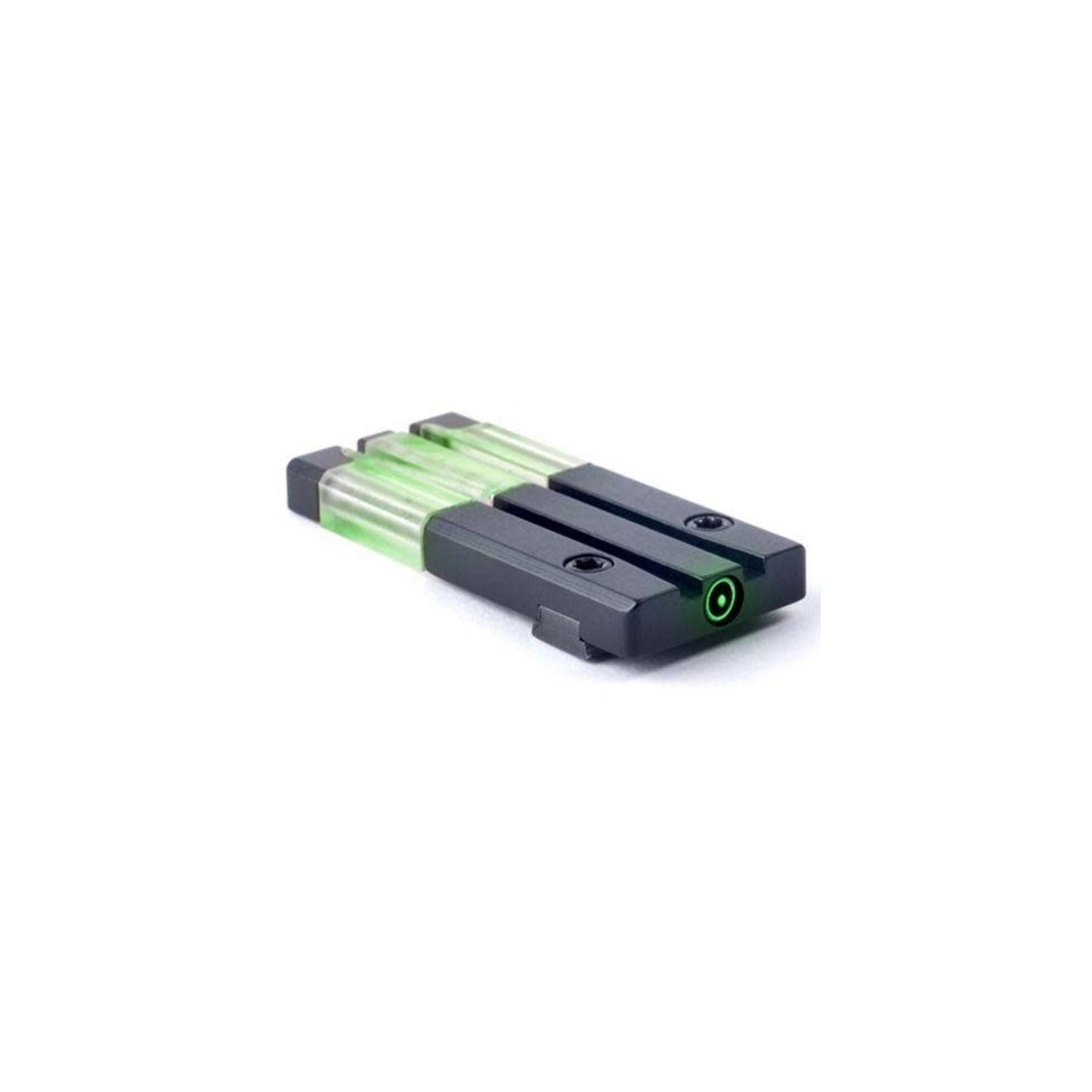 Meprolight Meprolight ML63102 Fiber-Tritium Bullseye Green Sight for Glock Models: 42,43
