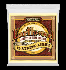 Ernie Ball Ernie Ball 2010 Earthwood Light 12-String 80/20 Bronze Acoustic Guitar Strings - 9-46 Gauge
