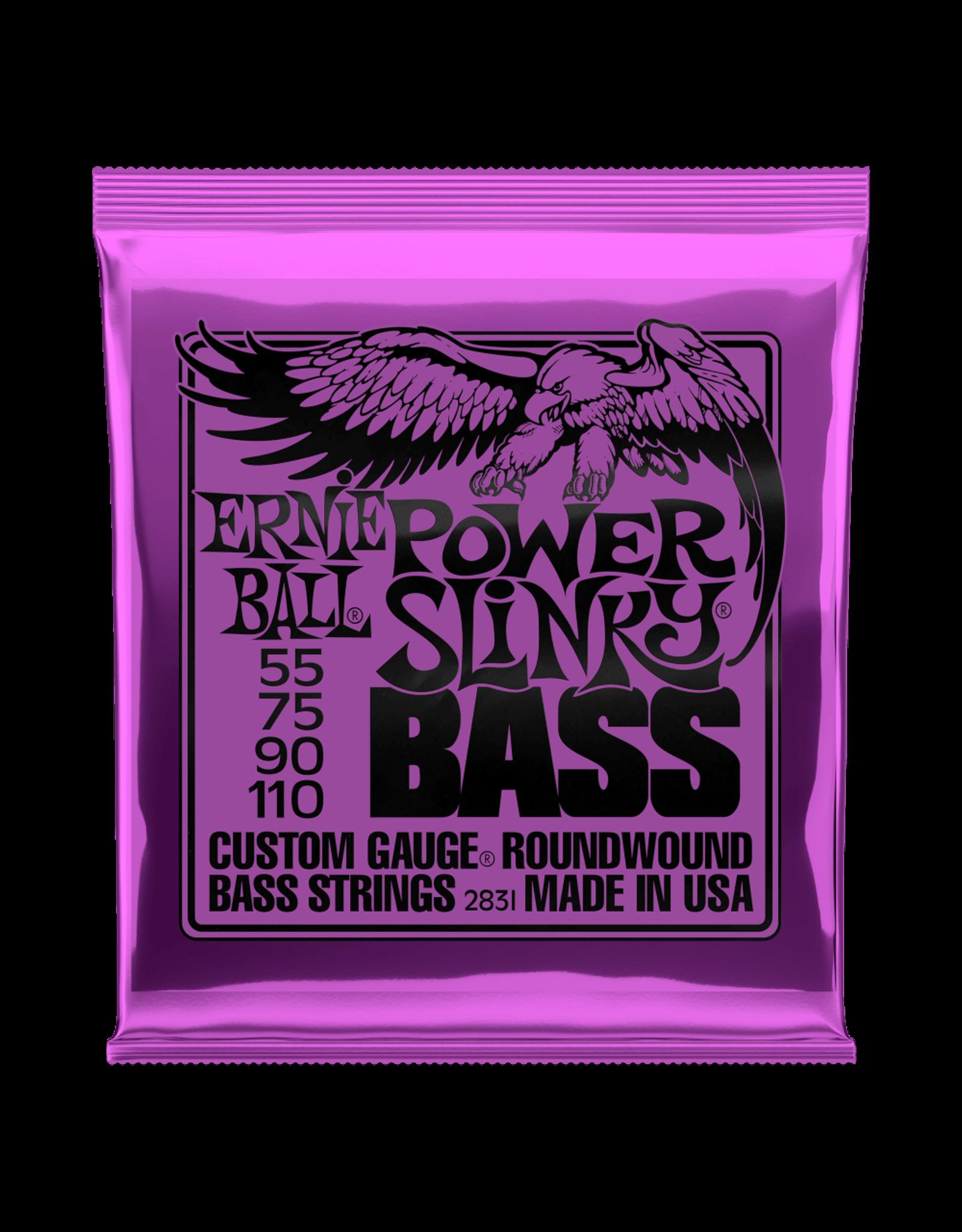 Ernie Ball Ernie Ball 2831 Power Slinky Nickel Wound Electric Bass Strings - 55-110 Gauge