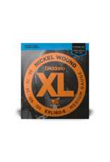 D'Addario D'Addario EXL160-5 Nickel Wound 5-String Bass, Medium, 50-135, Long Scale