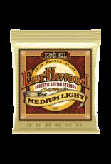 Ernie Ball Ernie Ball 2003 Earthwood Medium Light 80/20 Bronze Acoustic - 12-54