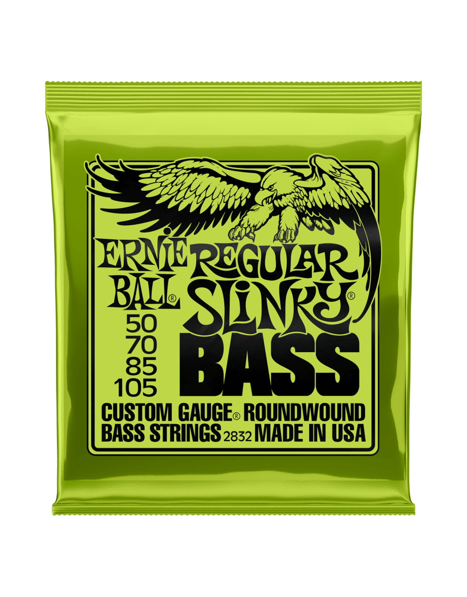 Ernie Ball Ernie Ball 2832 Regular Slinky Nickel Wound Electric Bass Strings - 50-105 Gauge