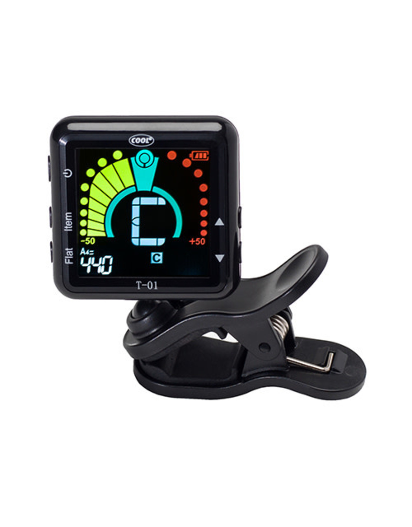 Cool Cool T-01 Rechargable Magnetic Clip Tuner