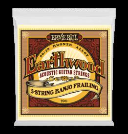 Ernie Ball Ernie Ball 2061 Earthwood 5-String Banjo Frailing Loop End 80/20 Bronze Strings