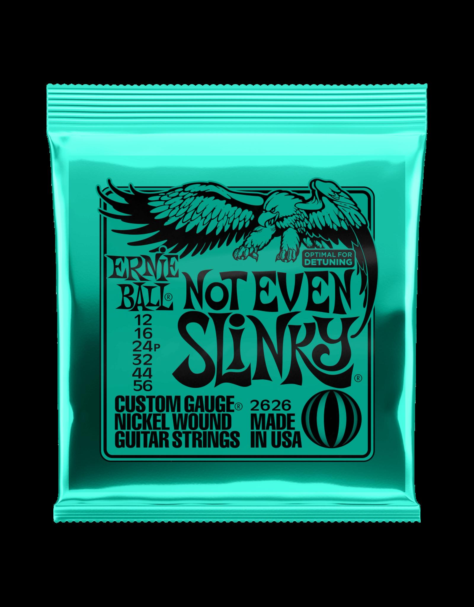 Ernie Ball Ernie Ball 2626 Not Even Slinky Nickel Wound Electric Guitar Strings 12-56 Gauge