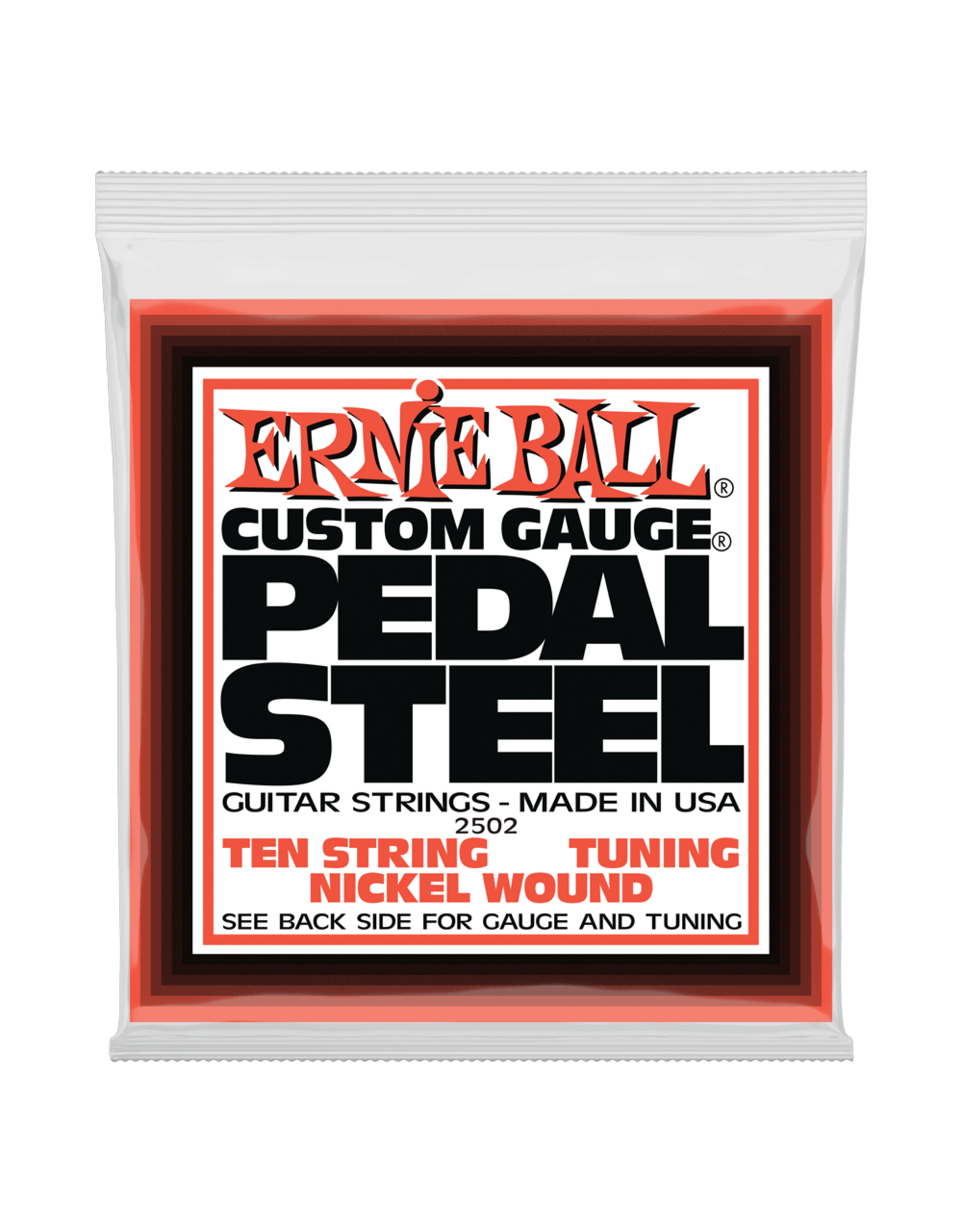 Ernie Ball Ernie Ball 2502 Pedal Steel 10-String E9 Tuning Nickel Wound Electric Guitar Strings - 13-38 Gauge