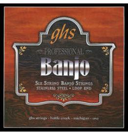 GHS GHS Banjo 6-string Light PF120