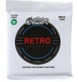 Martin & Co Martin MM10 Retro Extra Light Acoustic Guitar Strings