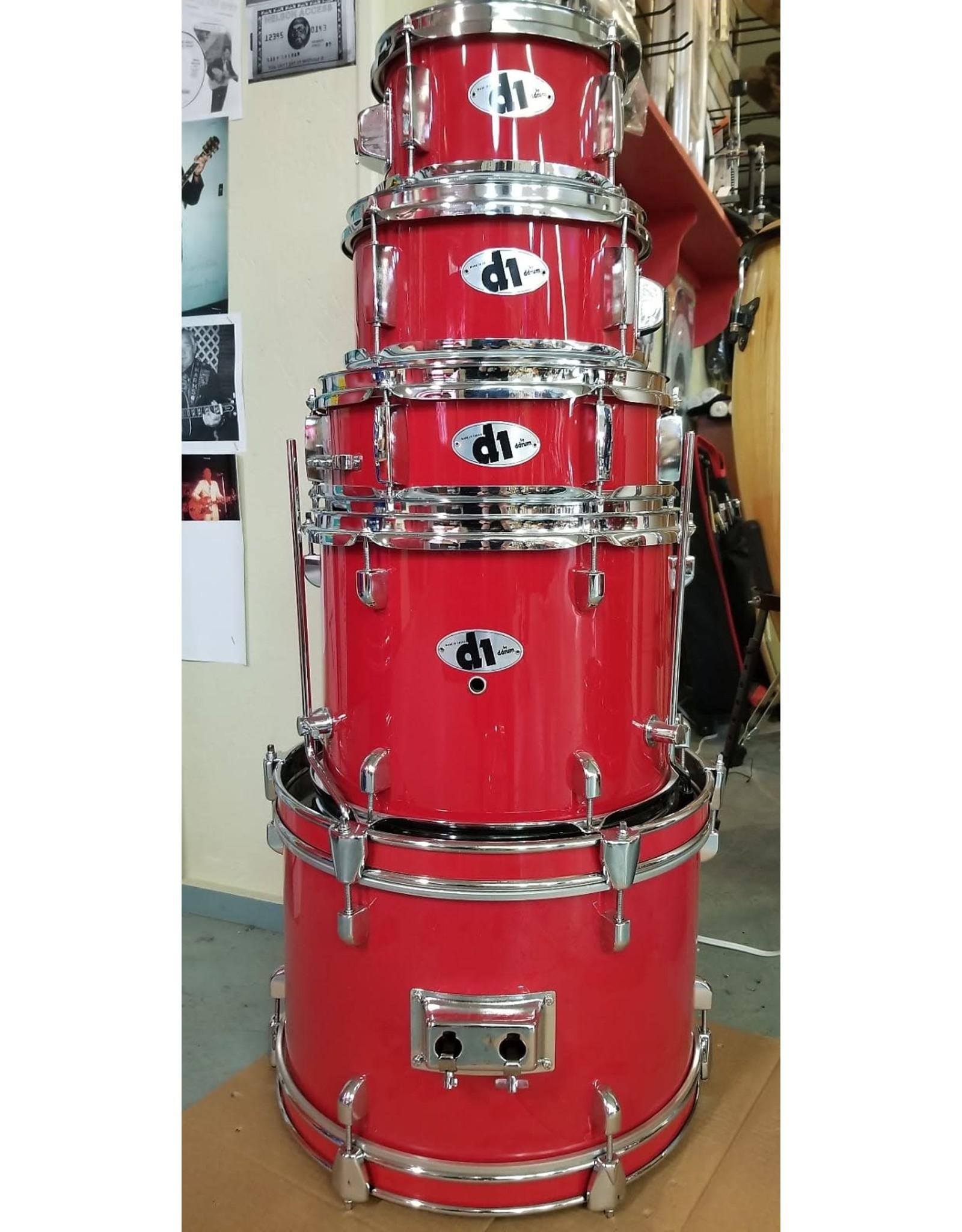 ddrum DDRUM D1 Jr. Drum Set  (Red)
