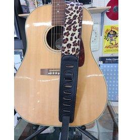 City Limits City Limits Leopard Guitar Strap
