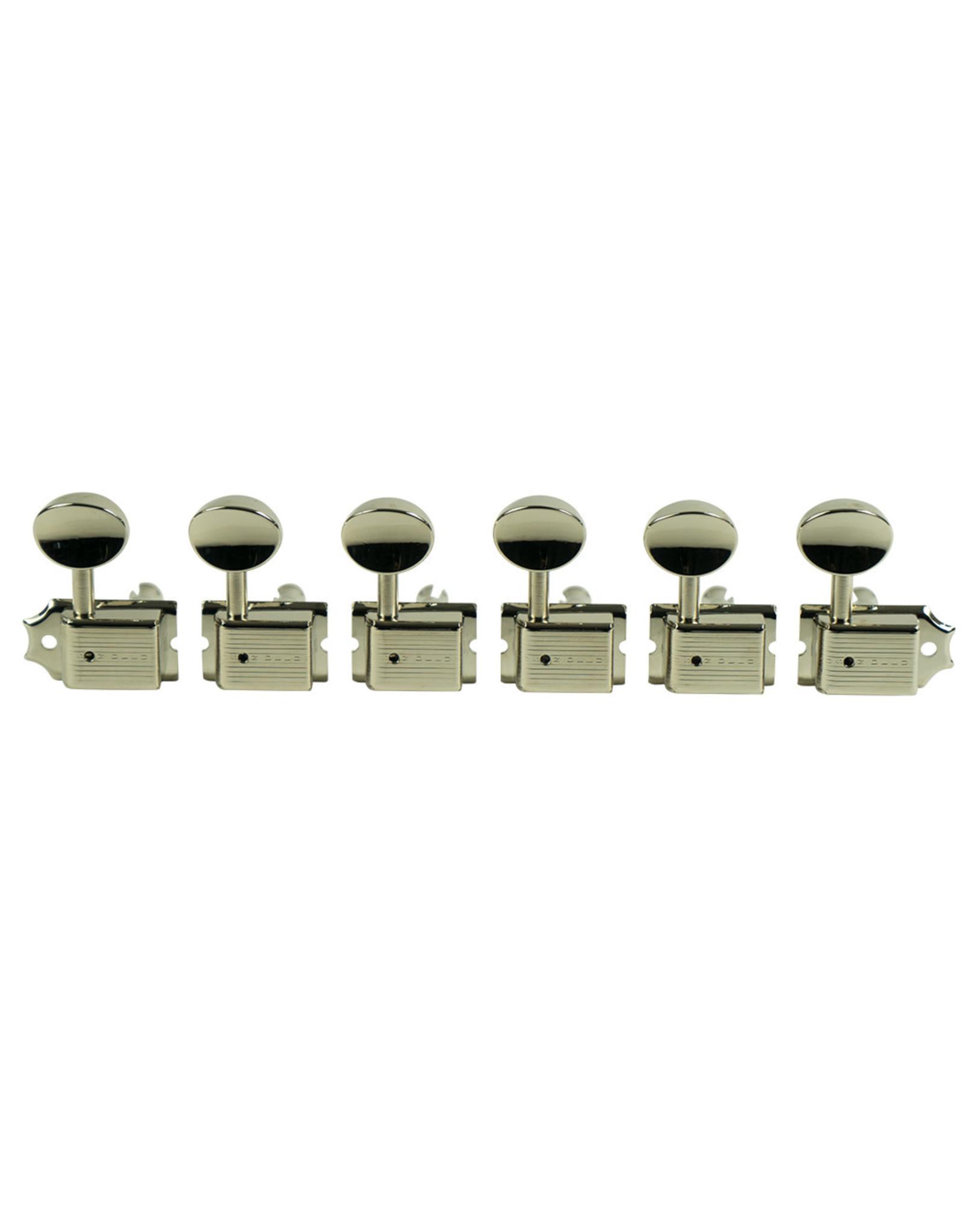 """Kluson Kluson 6"""" Deluxe Series Tuning Machines KD-6B-NM"""