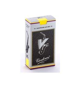 Vandoren Vandoren V.12 SR6125 Saxophone Alto Mib-Eb 2.5 Pkg of 10