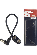 Stagg Stagg S-Series 9V Battery Snap Connector w/Right Angle Plug