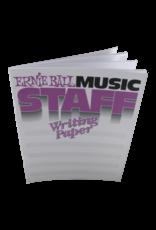 Ernie Ball Ernie Ball Music Staff Writing Paper