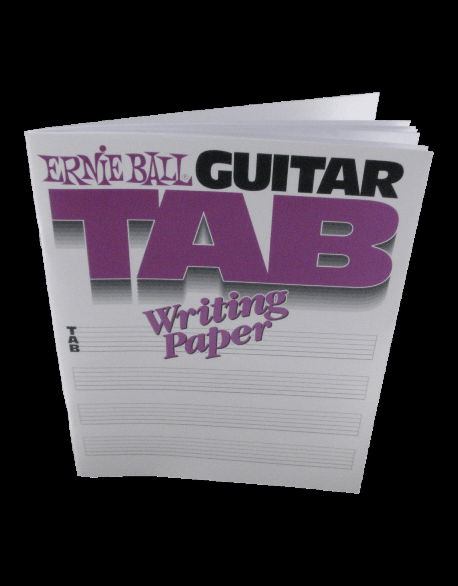 Ernie Ball Ernie Ball Guitar Tab Writing Paper