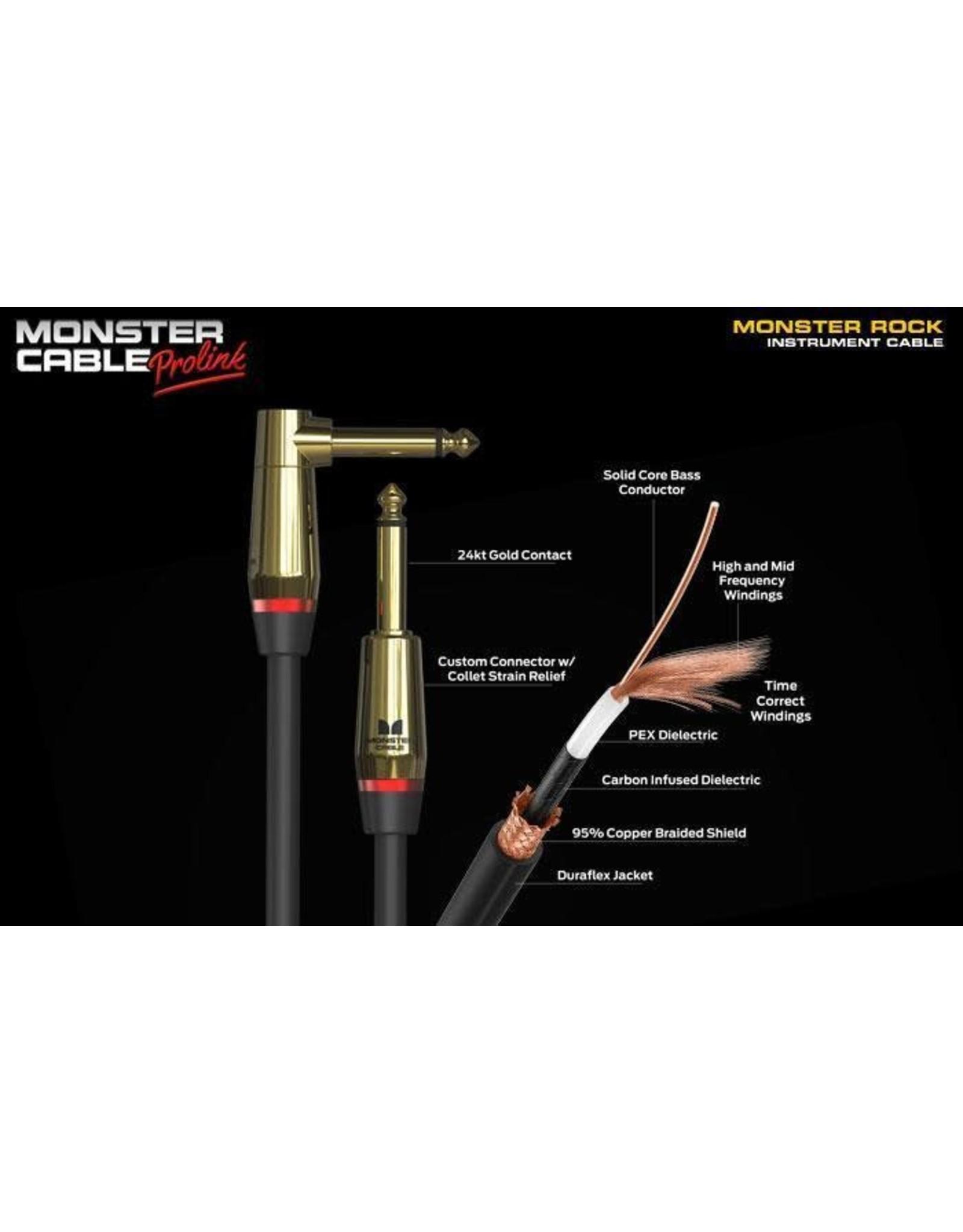 Moster Monster PROLINK® MONSTER ROCK® PRO Instrument Cable 21 ft
