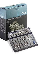 Stagg Stagg Multi-Channel Stereo Mixer w/ DSP Effect Unit