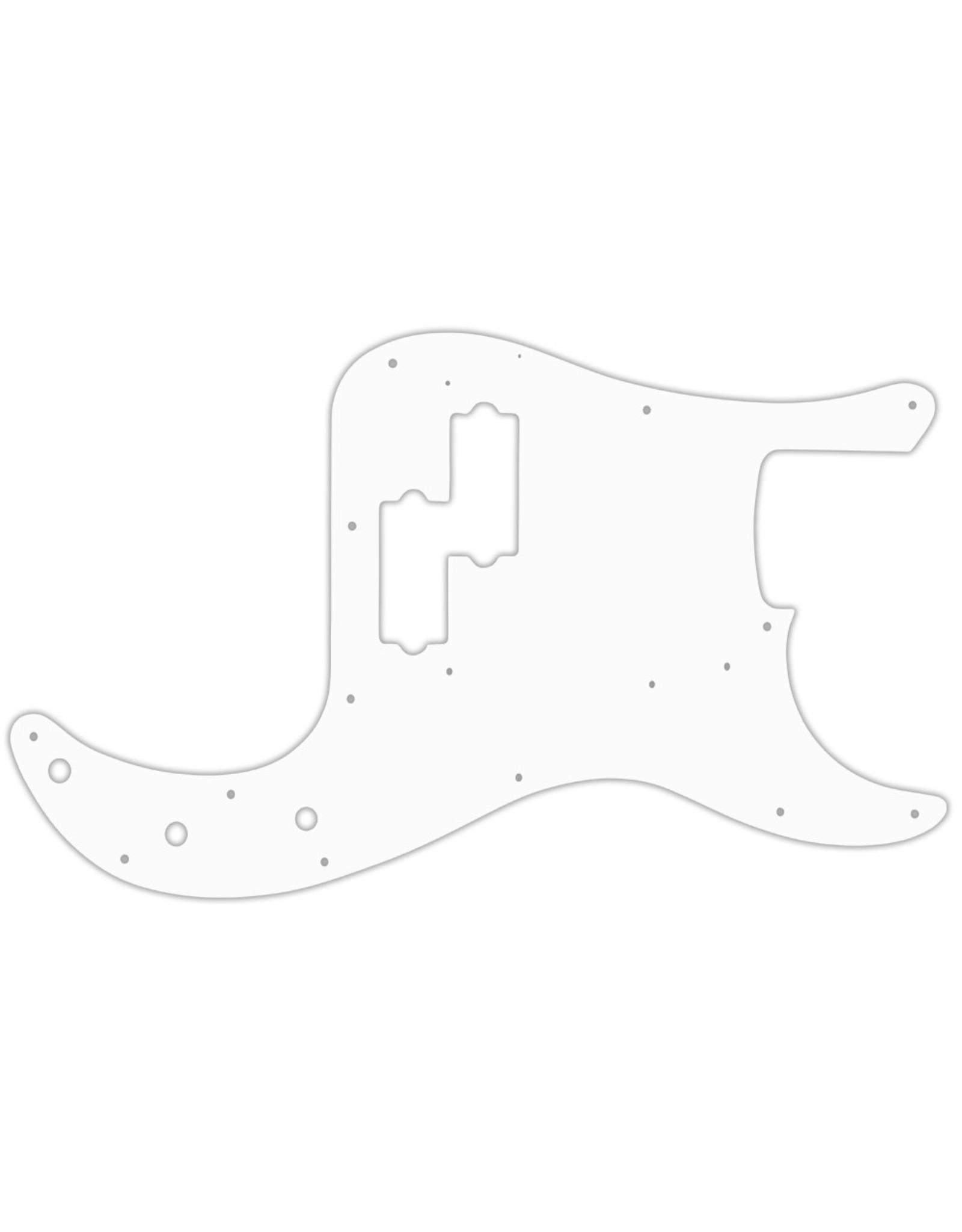 WDMusic WD® Custom Pickguard For Fender® '64-64 Precision Bass® #2 White