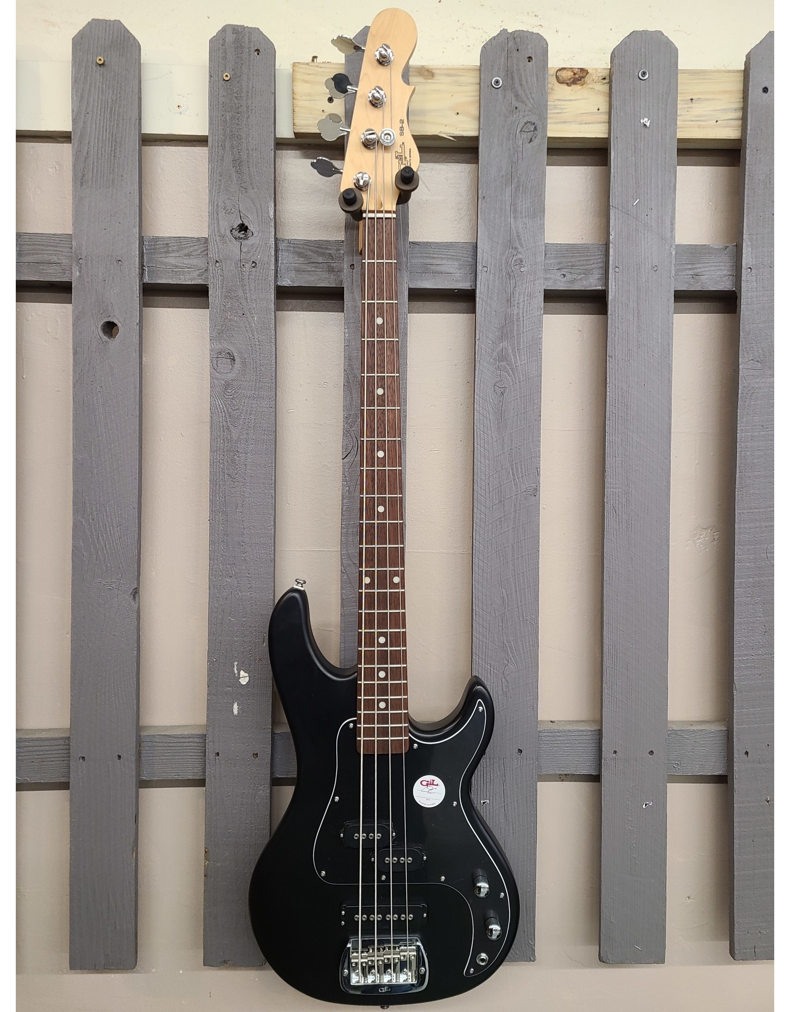 G&L G&L Tribute SB2 Black Satin Bass Guitar