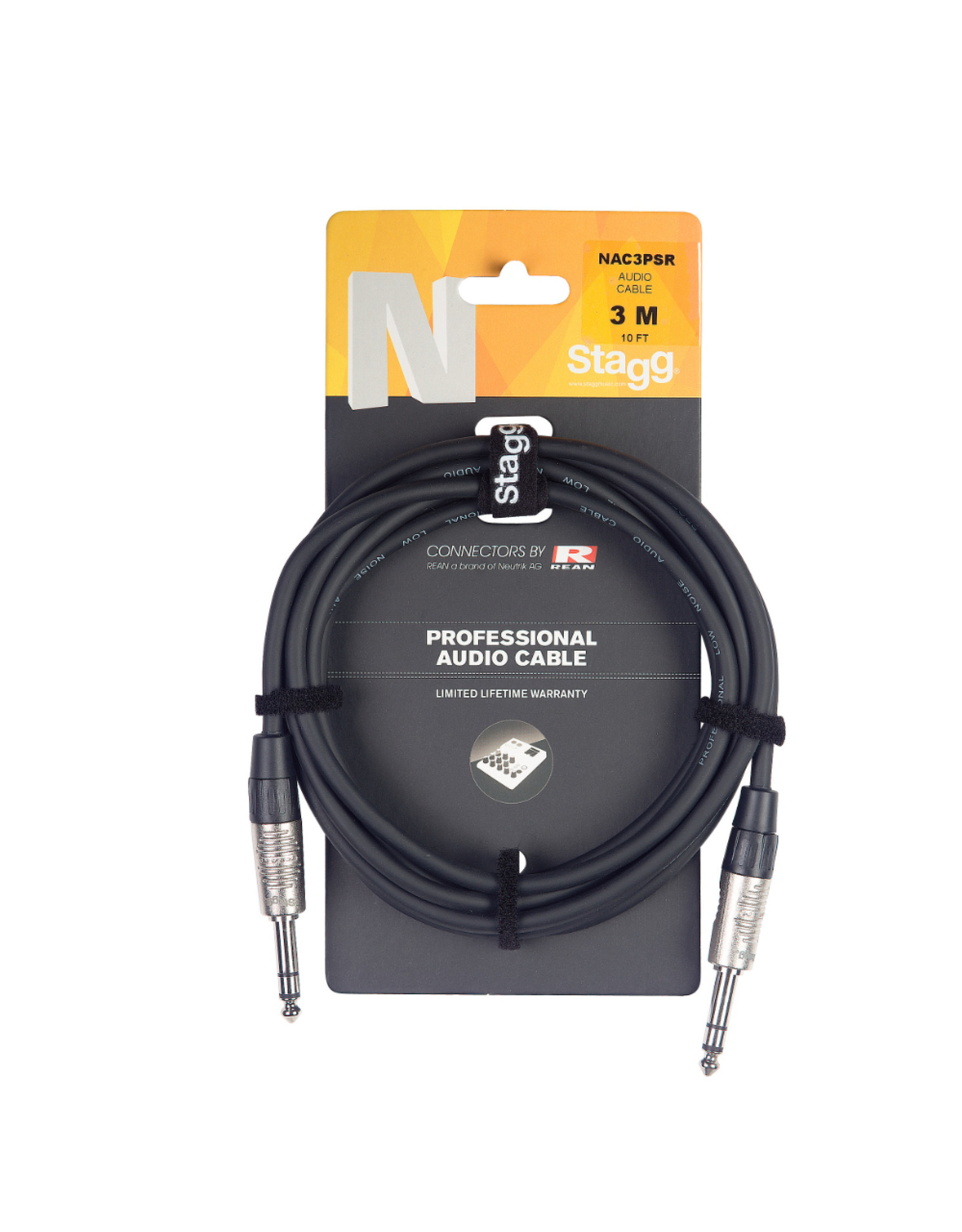 Stagg Stagg N-series Audio Cable 6M 20 Fft